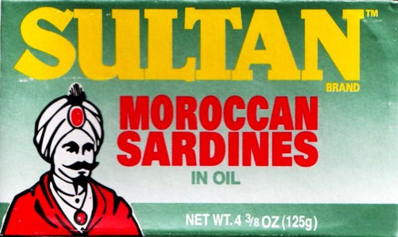Sultan Moroccan Sardines -- (in Oil)