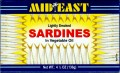 Mideast Smoked Sardines (Vegetable Oil)