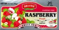 DeLuxe Raspberry Fruit Tea 20 Tea Bags